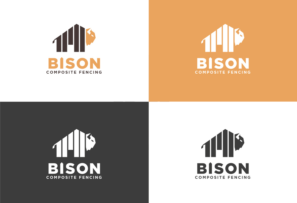 Bison Logo Colour Varients