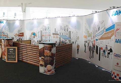 AAK exhibition stand