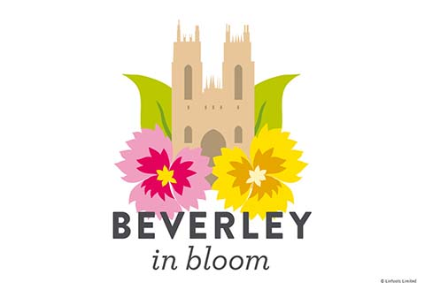 Beverley in Bloom logo