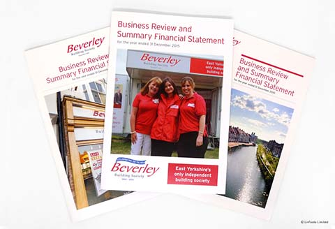 Beverley Building Society leaflets