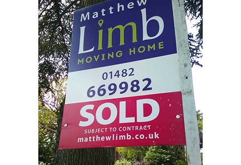 Matthew Limb sign board